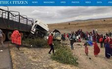 El sábado llegan a Málaga los cuerpos de los turistas fallecidos en Tanzania