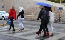 Meteorología activa un aviso por lluvias fuertes el sábado en Málaga