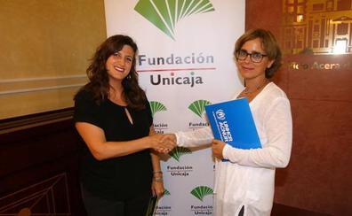 Acnur escolarizará a jóvenes refugiados con la ayuda de la Fundación Unicaja