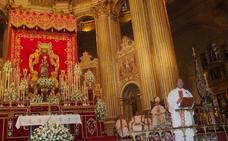 La imagen de Santa María de la Victoria volverá este sábado en procesión a su templo