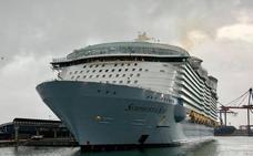 El crucero 'Symphony of the Seas' regresa a Málaga