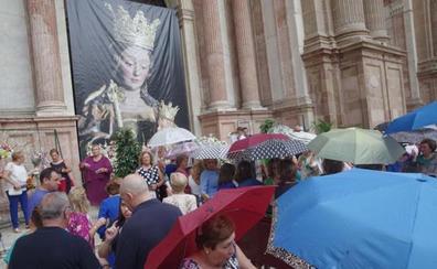 La Hermandad de Santa María de la la Victoria suspende la procesión de hoy por la lluvia