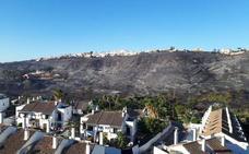 Una «negligencia» causó el incendio de Manilva que quemó 54 hectáreas en julio