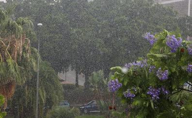 Meteorología activa el aviso amarillo para este domingo en la provincia de Málaga