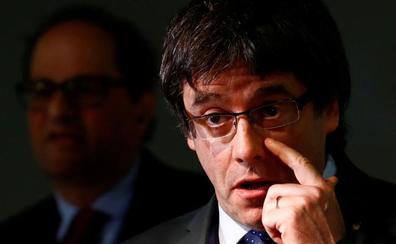 Torra, atrapado entre Puigdemont, ERC y Sánchez