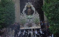 La Patrona de Málaga regresará a su santuario este viernes por la tarde