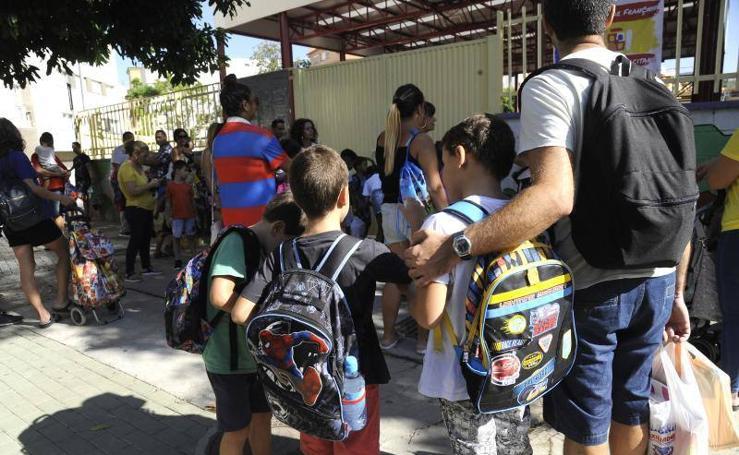 Vuelta al cole para los alumnos de Infantil, Primaria y Educación Especial