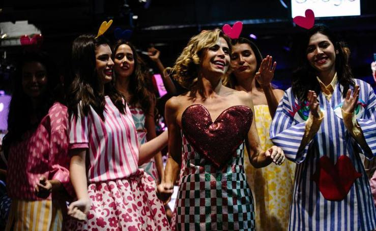 Agatha Ruiz de la Prada pone color en New York