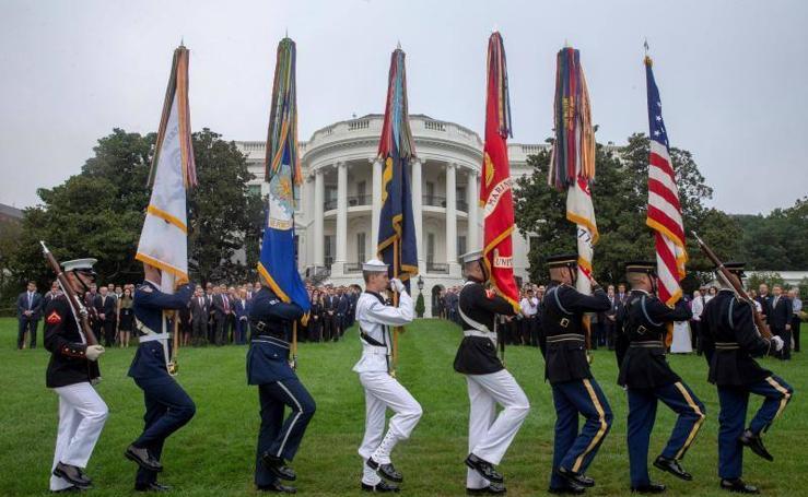 Jornada de homenajes en EEUU por el 17 aniversario del 11-S