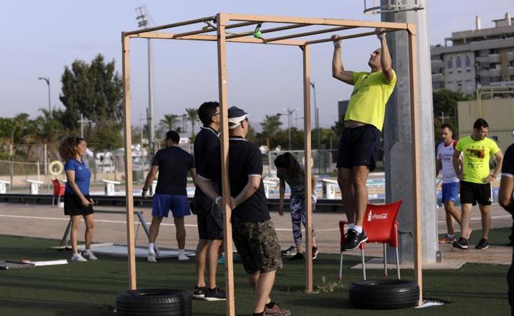 Así son las pruebas físicas de los aspirantes a las 15 plazas de Policía Local de Málaga