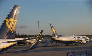 Ryanair cancela en España 44 vuelos por la huelga convocada en Alemania