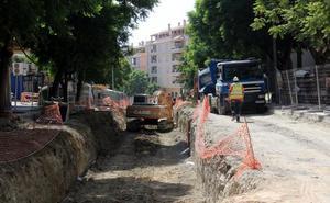 El Ayuntamiento prevé concluir en noviembre la avenida Andalucía