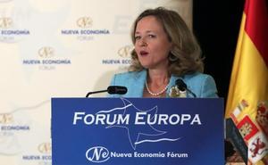Calviño anuncia subidas fiscales «mucho más importantes» si no hay nuevo déficit
