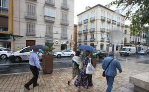 Una nueva Dana dejará lluvias durante el fin de semana en Málaga