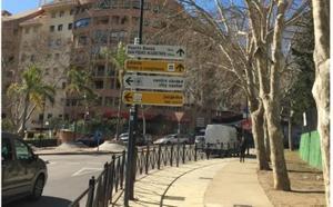 Una obra de urgencia mejorará la seguridad vial en el entorno de los colegios Juan Ramón Jiménez y Valdeolletas