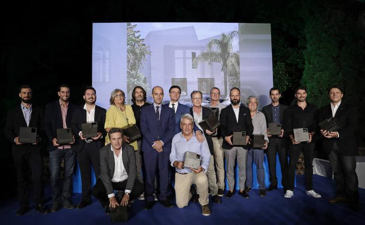 Gala de entrega de los premios Málaga de Arquitectura