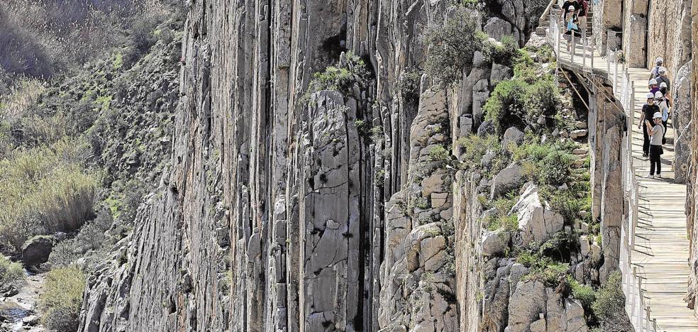 La Diputación inicia el trámite para que el Caminito del Rey sea Patrimonio Mundial
