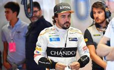 La última visita de Alonso al lugar del 'crimen'