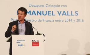 Manuel Valls: «Si se rompe España, se rompe Europa»