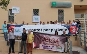 Médicos de familia y pediatras de Málaga determinan los días exactos qué irán a la huelga
