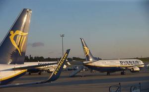 Sindicatos de tripulantes de cabina convocan huelga en Ryanair para el próximo día 28