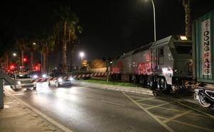 Los trenes vuelven al Puerto de Málaga con una línea para exportar a Canadá