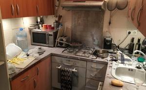 Una rata roe una conducción de gas y causa una explosión con un herido en Cártama