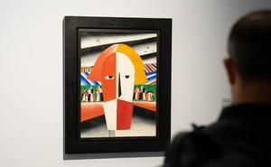 El Museo Ruso de Málaga celebra hoy unas jornadas de puertas abiertas para ver la exposición de Malévich