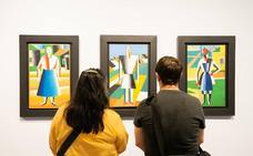 Así es la gran exposición sobre Malévich en el Museo Ruso de Málaga