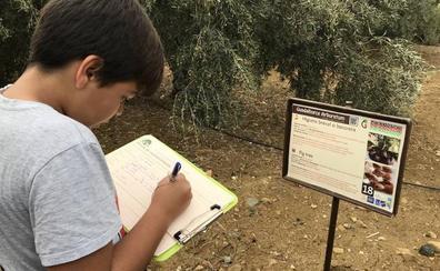 Un jardín nacido para enseñar en Álora