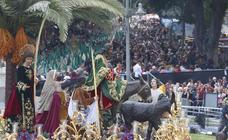 Ocho salidas procesionales, en riesgo por la previsión de lluvias para este fin de semana en Málaga