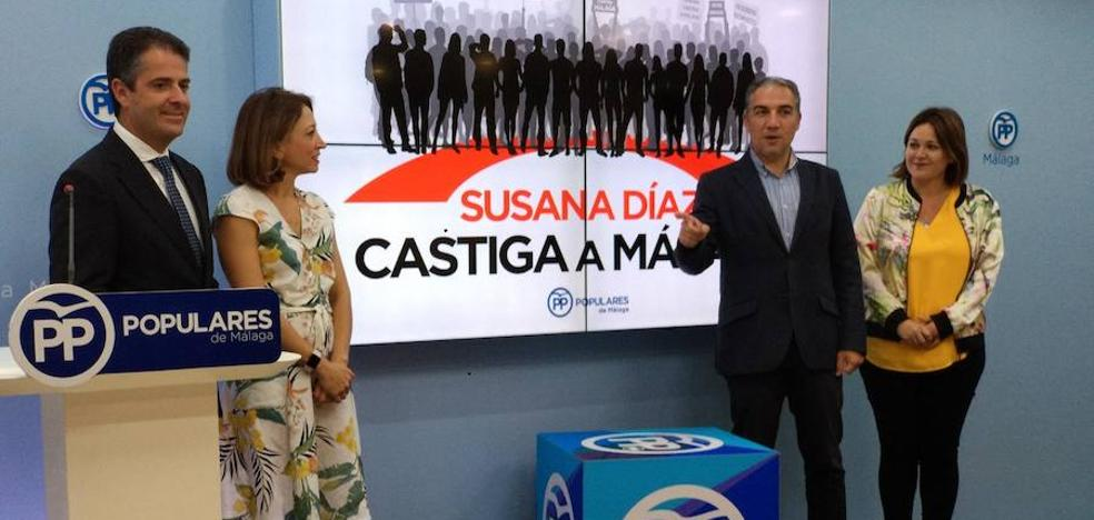 El PP acusa a la Junta de subir los impuestos a la compra y sucesiones de pisos en Málaga y bajarlos en Sevilla