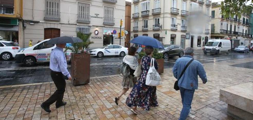 Aemet amplía el aviso por lluvias fuertes hoy y mañana en toda la provincia