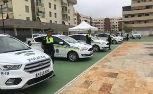 Vélez-Málaga renueva el parque móvil de la Policía Local con 10 nuevos vehículos