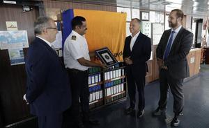 Arranca el servicio que conectará cada semana los puertos de Málaga y Montreal