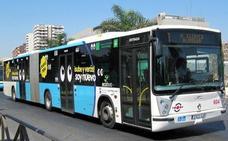 El transporte público será gratis desde este lunes en Málaga para quienes dejen su coche en un párking junto al Martín Carpena