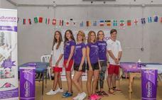 Las 'fisios' del Mundial de atletismo en Málaga