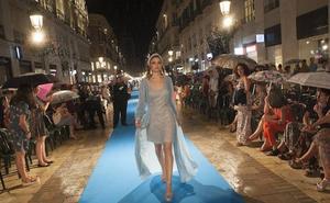 Pasarela Larios viste a la mujer empoderada, incluso en la lluvia