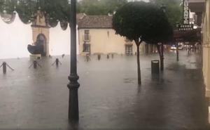 Meteorología prevé posibles aguaceros de 20 litros en una hora hoy en cualquier punto de la provincia de Málaga