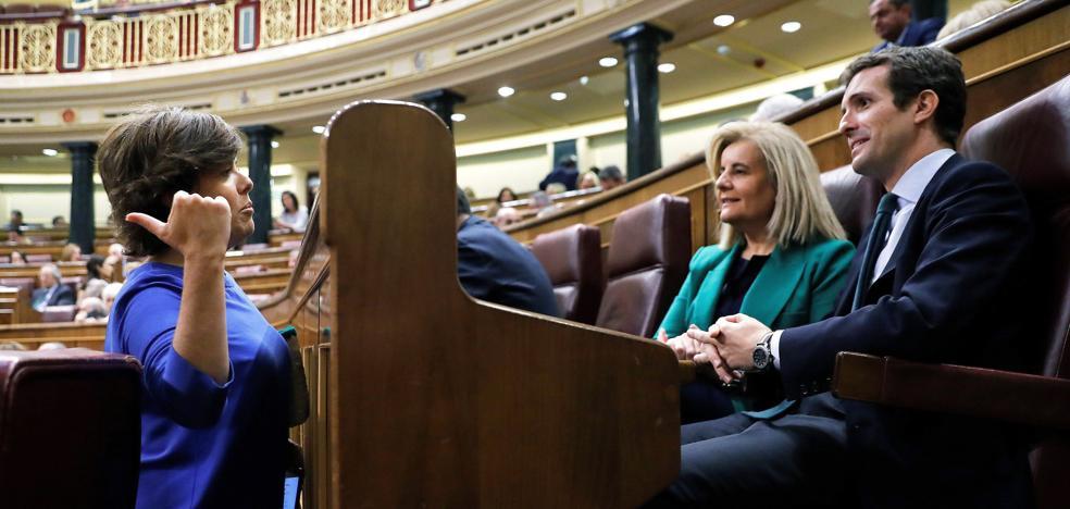 El adiós de Sáenz de Santamaría a la política pone fin al 'sorayismo'