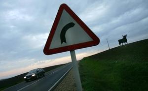 ¡Peligro, carretera convencional!