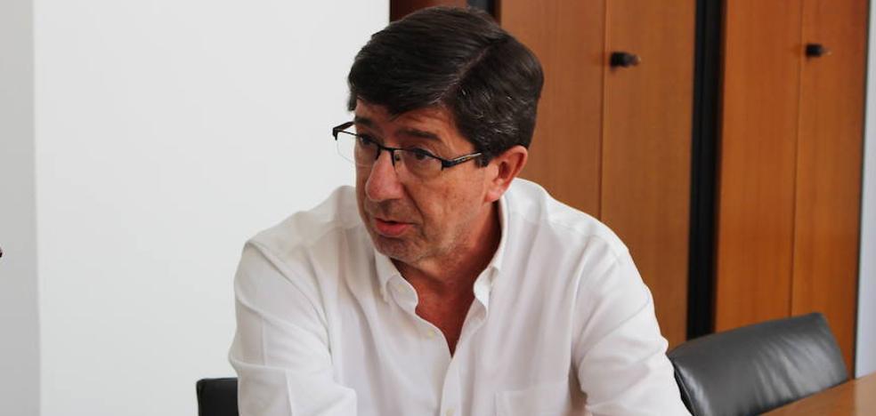 Juan Marín: «El PSOE dice que cada vez que Rivera viene a Andalucía me está insultando. Para mí es un orgullo»