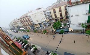 Las últimas lluvias permiten aumentar las reservas en los pantanos en Málaga
