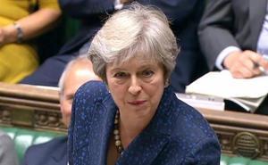 May advierte de que la alternativa a su propuesta para el 'Brexit' es que no haya acuerdo