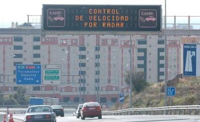 La A-7 de Málaga, entre las carreteras españolas que más multas generan