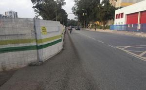 Paseo de Martiricos: inseguridad para los peatones