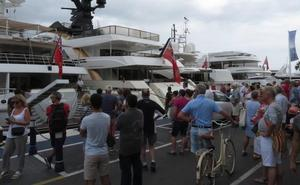 El turismo náutico repunta en Marbella de la mano de los grandes yates de lujo