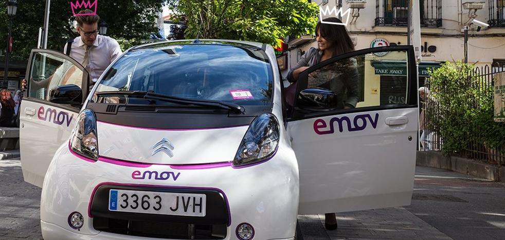 Emov prueba sus coches eléctricos en Málaga