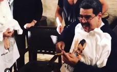Maduro, criticado por su banquete de carne en Turquía