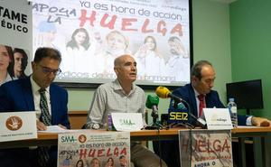 Los médicos de Málaga aseguran que con la huelga en los centros de salud se busca reconstruir la sanidad pública
